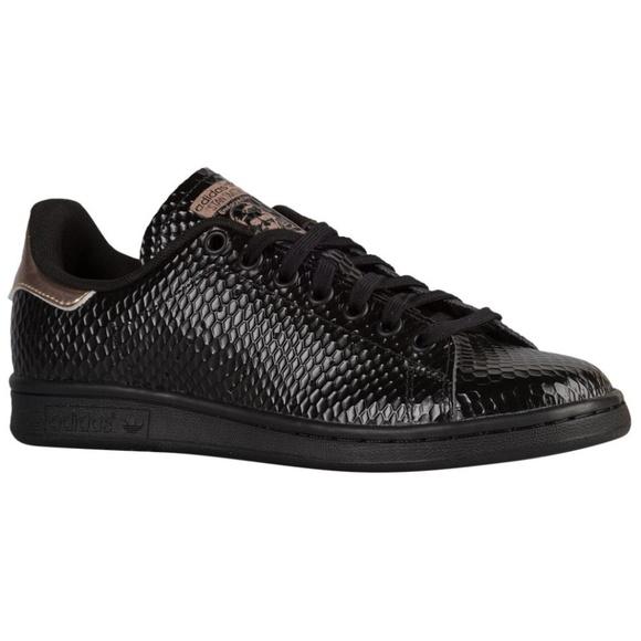7cdd8c4f7f77a adidas Shoes | Originals Stan Smith Black Copper Metallic | Poshmark